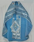 Complete Priest Vestments-Blue (also available in green)