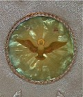 Mitre Icon on Mother of Pearl (top of Mitre)